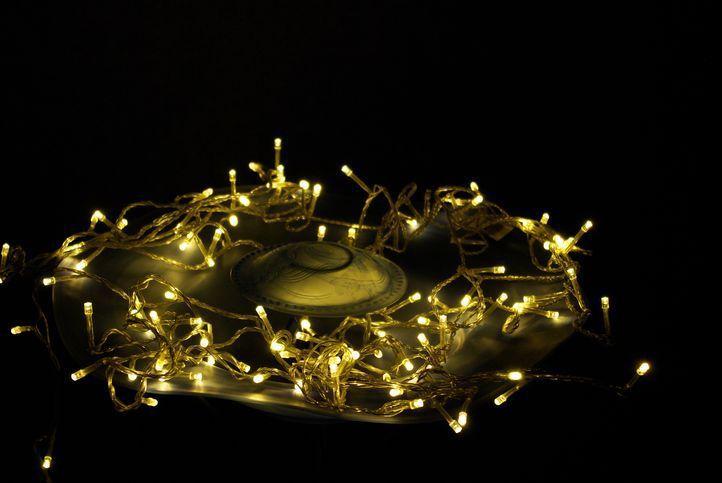 Garth vianočná LED reťaz - 18 m, 200 diód, teple biela