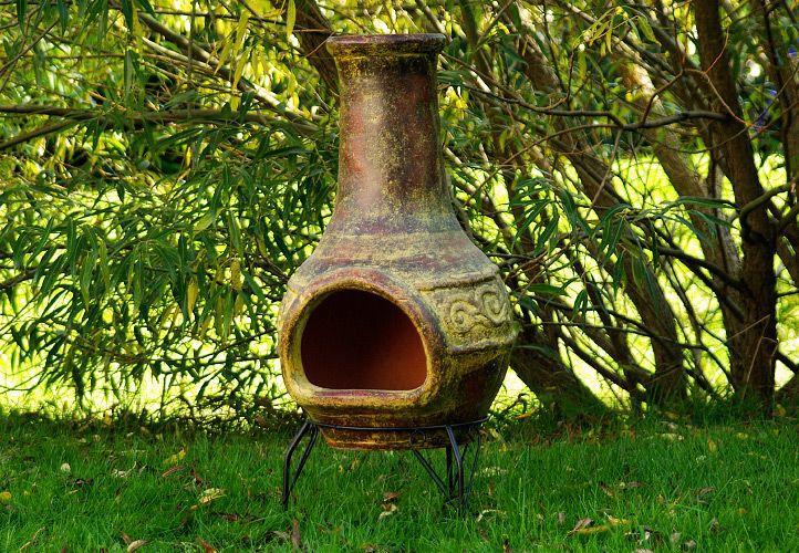 TERA Vonkajšie záhradné terakotový krb