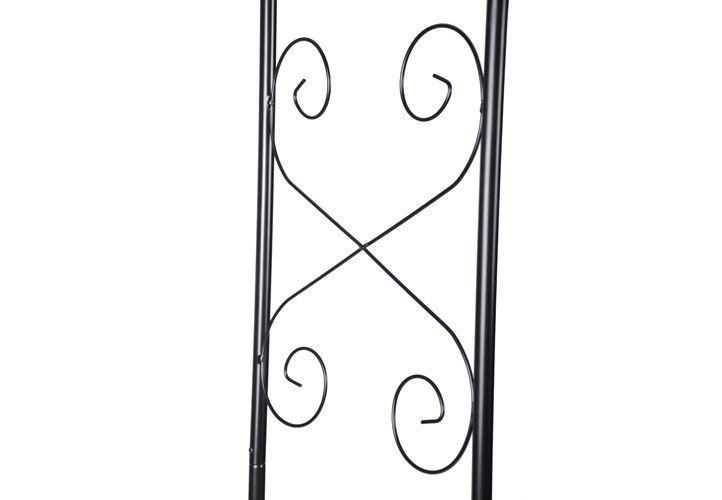 Vchodová oblúková pergola - oblúk na ruže