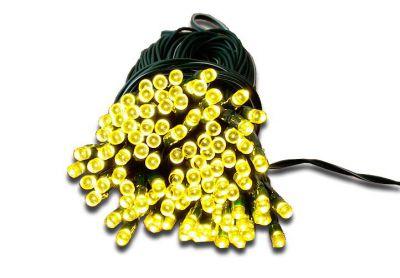 Záhradná svetelná reťaz Garth - 100 x LED dióda teplá biela - s blikajúcou funkciou