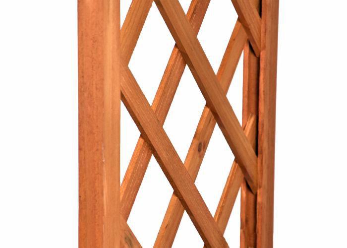 Drevená vchodová pergola Garth