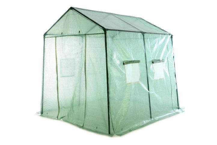 Garthen 249 Fóliovník transparentní zelená 220 x 215 x 240 cm