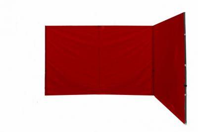 Sada 2 bočných stien k PROFI nožnicovému stanu – červená