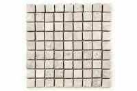 Mramorová mozaika Garth - krémová – obklady 1 ks