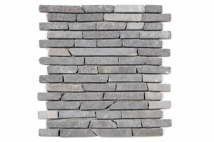 Divero Garth 24758 Mramorová mozaika - šedá obklady - 1x síťka