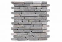 Mramorová mozaika Garth - šedá obklad - 1x sieťka
