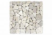 Mramorová mozaika Garth- krémová obklad - 1x sieťka
