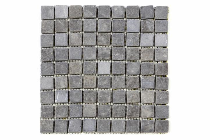 Mramorová mozaika Garth - sivá – obklady 1 ks