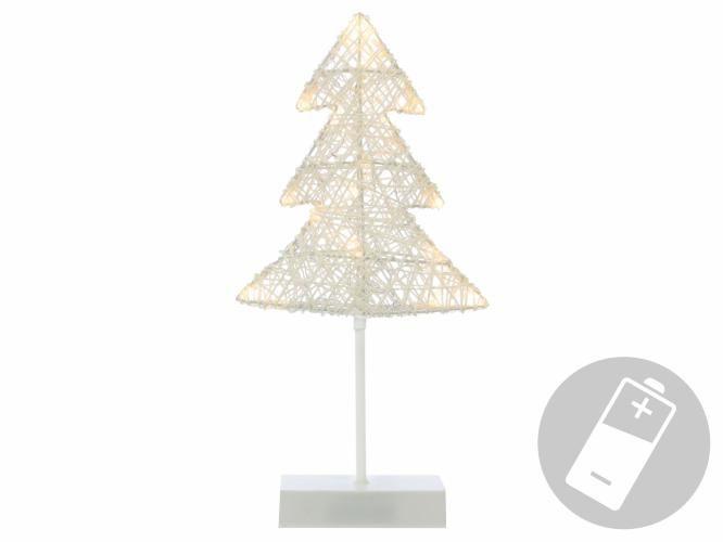 Vianočná dekorácia - strom, 40 cm, 20 LED diód