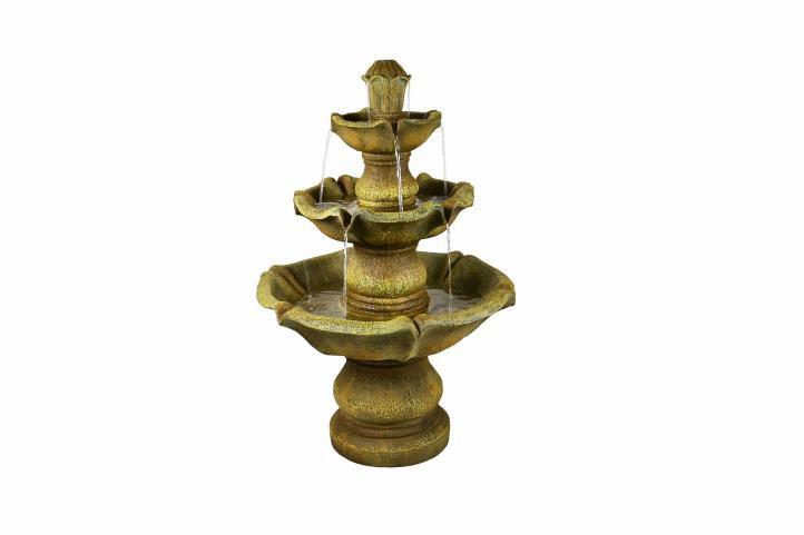 Klasická záhradná fontána