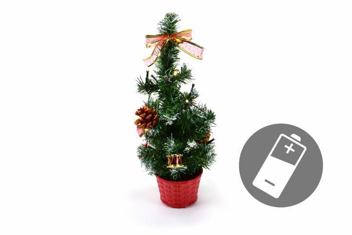 Vianočný stromček s LED osvetlením 40 cm