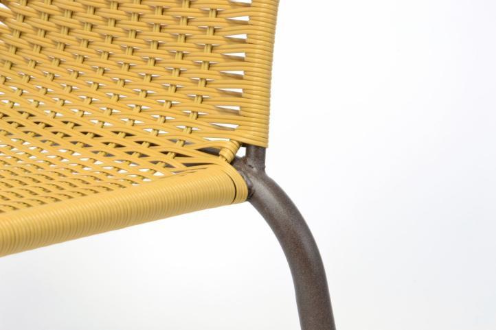 Záhradný balkónový set 2 stoličky + sklenený stolík