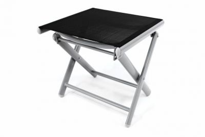 Hliníková záhradná stolička – skladacia