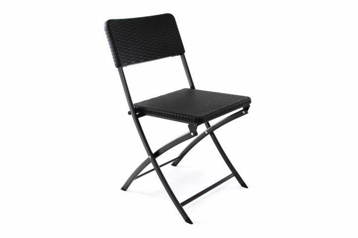 Skladacia stolička na záhradu 80 x 40 cm