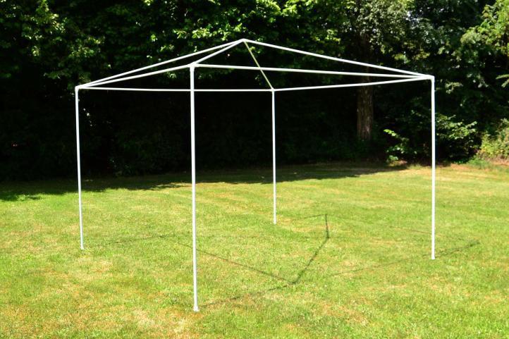 Záhradný párty stan - biely 3 x 3 m