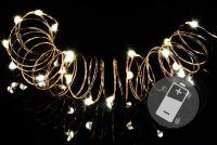 LED svetelná reťaz - 4 sady - 20 mini diód