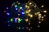 Vianočná svetelná reťaz 40 LED - 9 blikajúcich funkcií - 3,9 m
