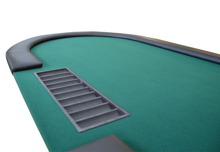 XL pokerový stôl - Casino stôl - do 10 hráčov