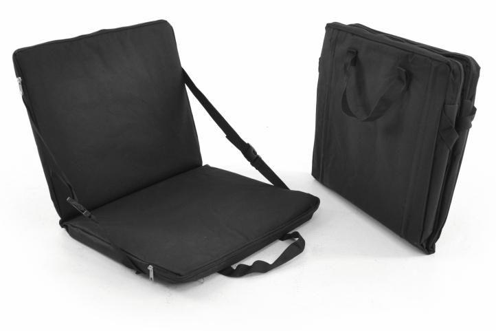Prenosné polstrovanie - sedák - čierny
