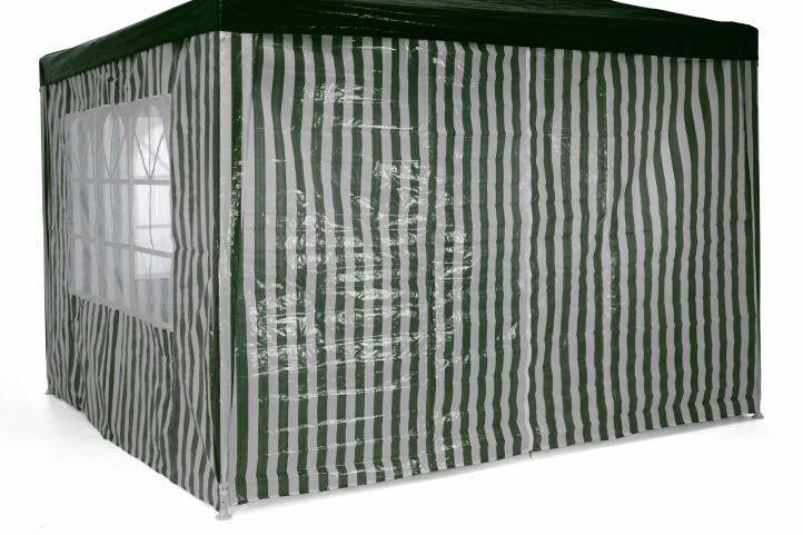 Záhradný párty stan 3 x 3 m - tmavo zelený