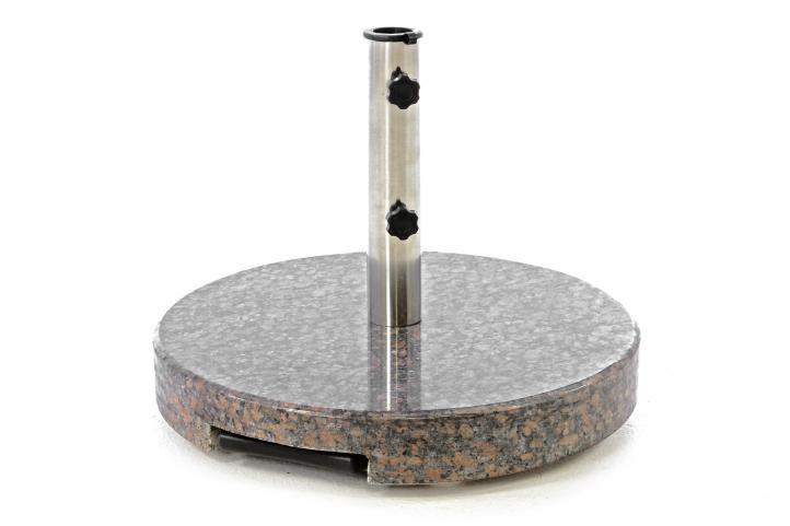 Stojan na slnečník kruhový žula - 35 kg