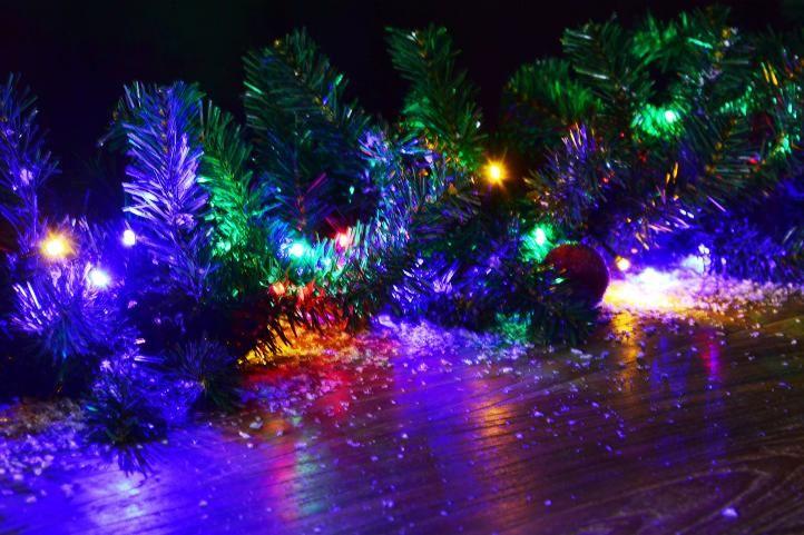 Vianočná reťaz - 39,9 m, 400 LED, 9 blikajúcich funkcií