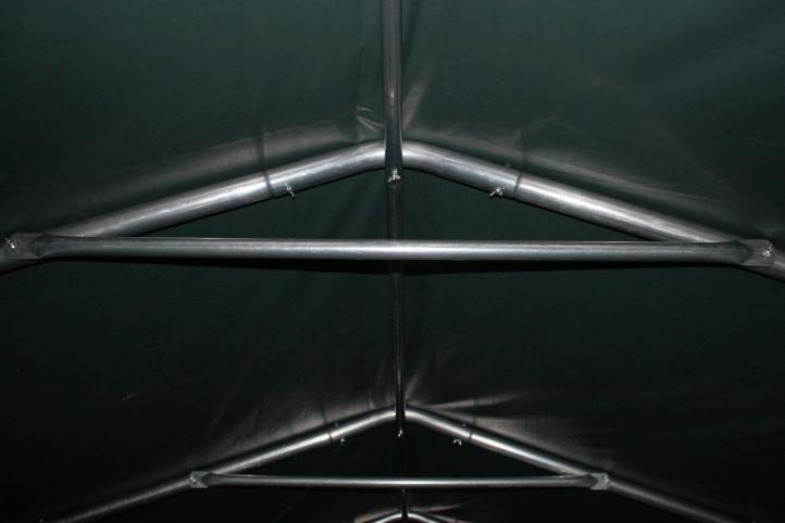 Mobilný prístrešok nielen pre zvieratá - zelený 3,3 x 6,0 m