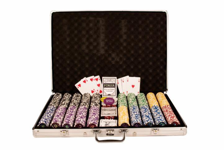 Poker set 1 000 ks žetónov OCEAN v hodnote 5 - 1000