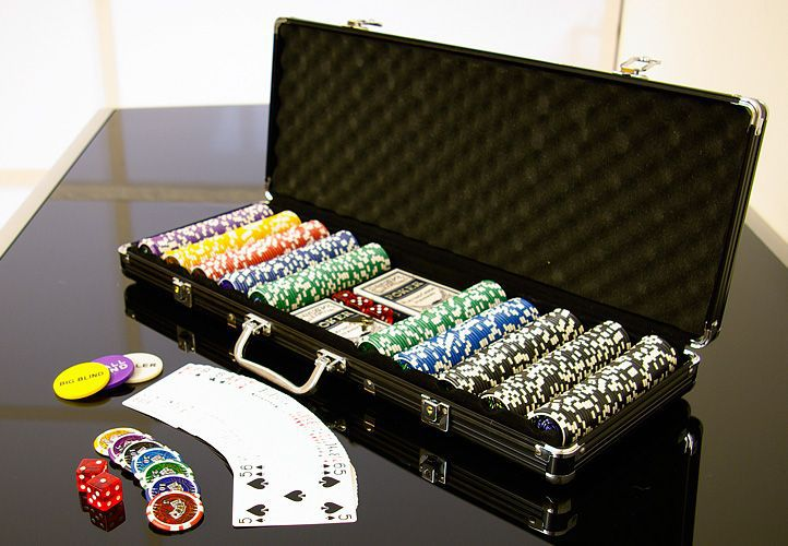 Poker set 500 ks  v hodnote 5 – 1000 OCEAN BLACK EDITION