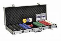 Poker set 500 ks žetónov s príslušenstvom