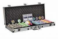 Praktický poker set OCEAN CHAMPION 500 žetónov