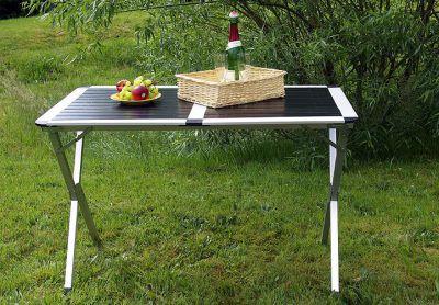 Hliníkový skladací stôl Garth 70 cm