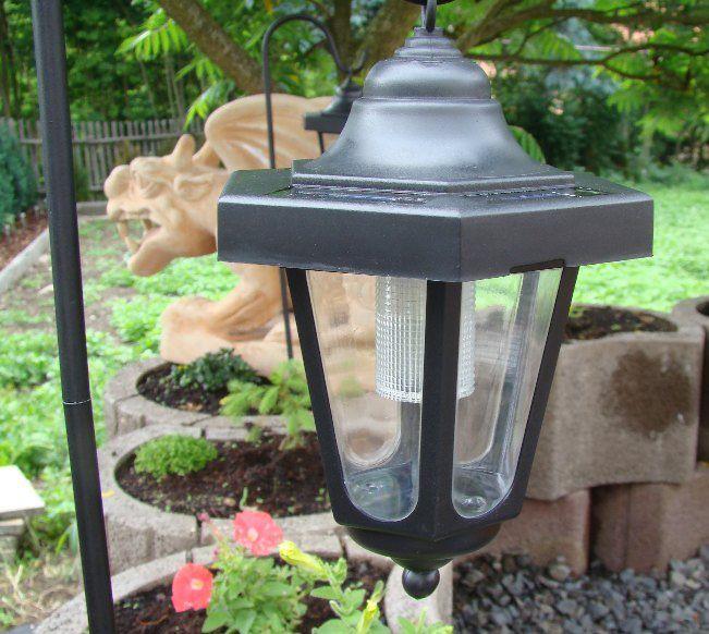 Záhradná sada solárnych LED lucerien, 3 ks