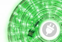 LED svetelný kábel - 480 diód, 20 m, zelený