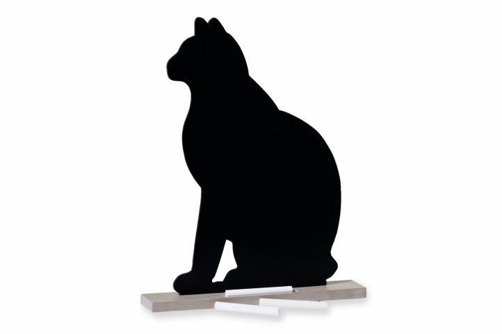 Upomienková tabuľa mačka + 6 kusov kried