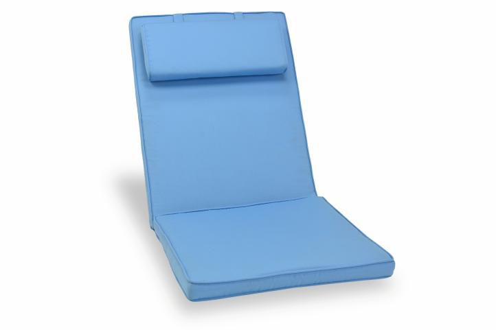 Divero 601 Polstrování na židli - světle modré