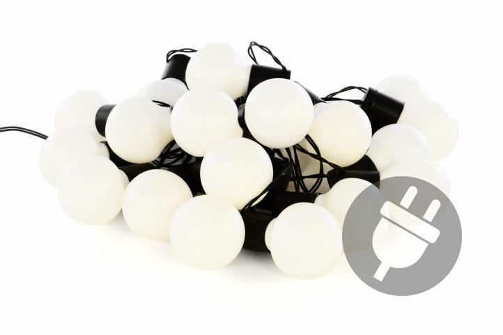 Párty osvetlenie pre vonkajšie použitie - teplo biela