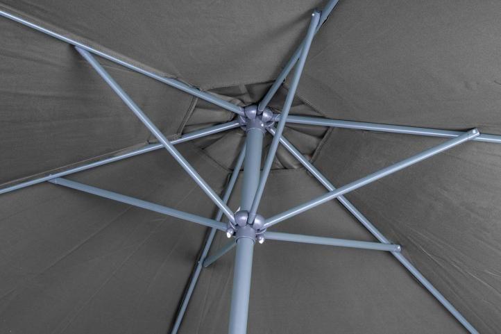 Slnečník s kľučkou antracit - 3 m