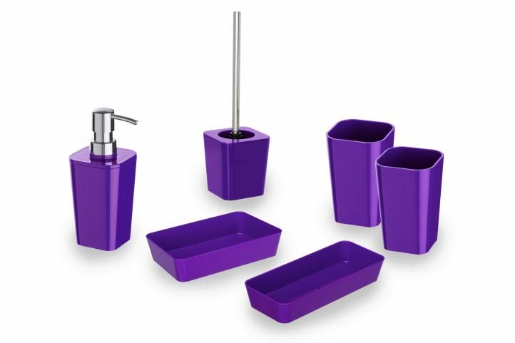 Kúpeľňová sada Wenk - Candy purple