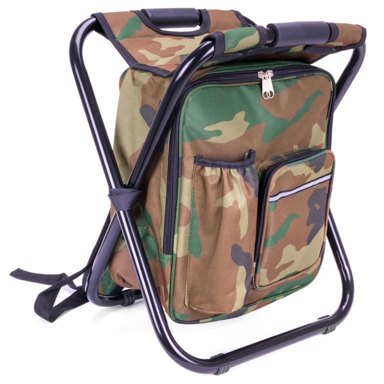 Multifunkčný skladací batoh, maskovací