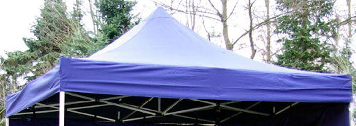 PROFI náhradná strecha na záhradný skladací stan 3 x 3 m modrá