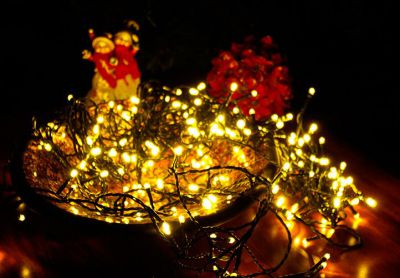 Vianočné LED osvetlenie 18 m - teplá biela, 200 LED