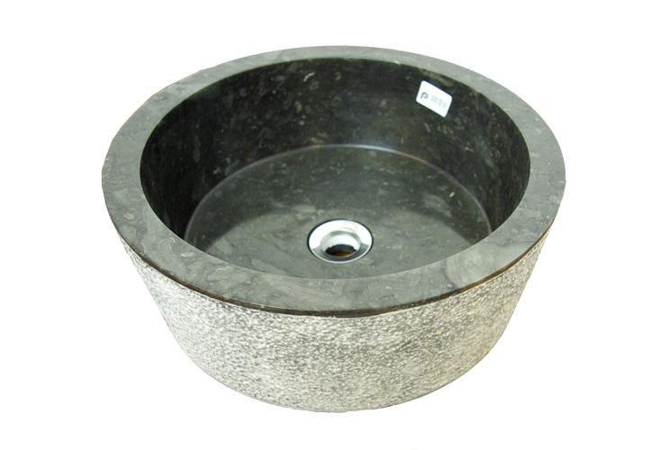 DIVERO umývadlo z prírodného kameňa Palermo
