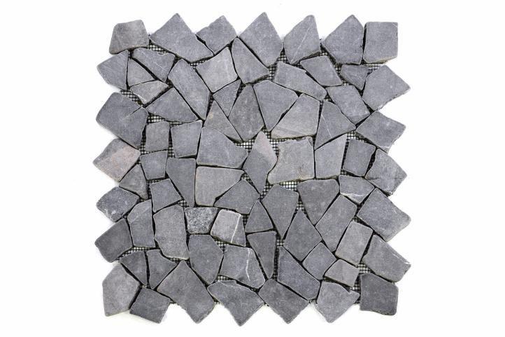 Divero Garth 9588 Mramorová mozaika - šedá obklady 1 ks