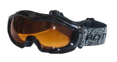 Lyžiarske okuliare pre dospelých - čierne