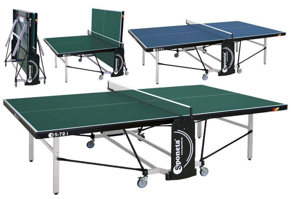 Stôl na stolný tenis (pingpong) Sponeta S5-72i, zelený