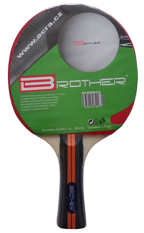 Pálka na stolní tenis BROTHER 5-star