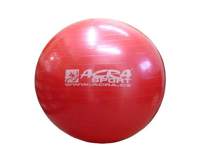 CorbySport 40038 Míč gymnastický 750 mm červený