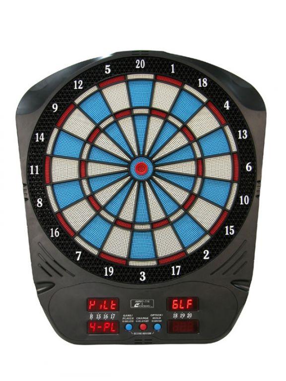 CorbySport ECHOWELL 5204 Elektronický terč na šipky pro12 hráčů