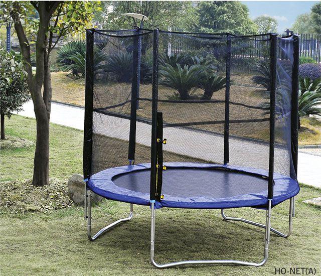 Záhradná trampolína s ochrannou sieťou - 244 cm